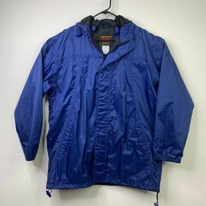 Stearns Rain Jacket Windbreaker Raincoat M L